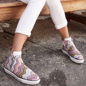 MISSONI x Converse High Line Multicolor Sneakers